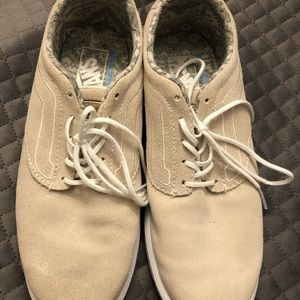 Vans nude colored shoes